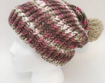 Women's Knit Slouchy Hat #2043