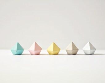 Concrete Diamonds - Pastel Set