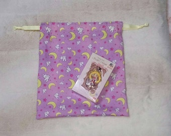 Sailor Moon - Usagi bedding pattern Drawstring bag