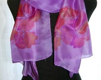Violet silk