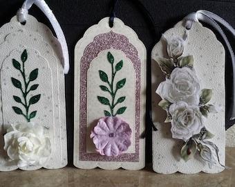 Handmade luxury gift tags