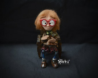 The Log Lady (Twin Peaks) - Original and Unique sculpture