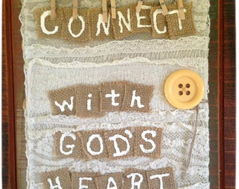 Connect with God's Heart Journal
