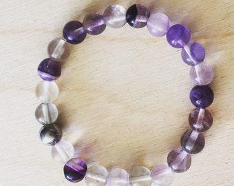 Fluorite (purification and stabilization) bracelet