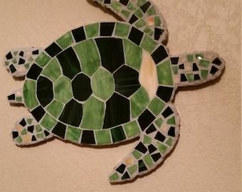 Green Mosaic Turtle