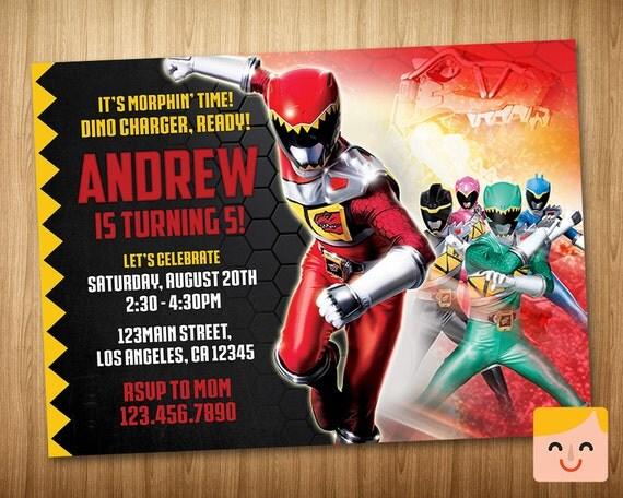 Power Ranger Invites is luxury invitations ideas