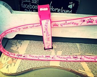 Cotton Candy Bublegum pink princess - Dog collar