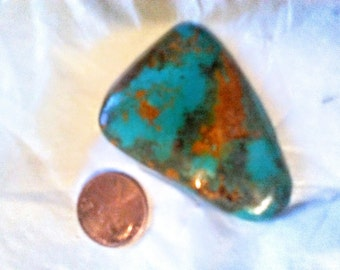 Turquoise.  80 ct lg Blue bell mine