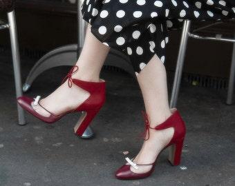 Bionda Castana mary jane seethrough shoes , high heels, size 39