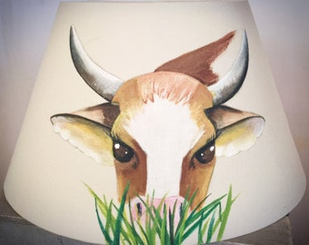 Cow Lampshade for room child