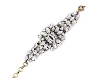 Crystal Pompon Bracelet