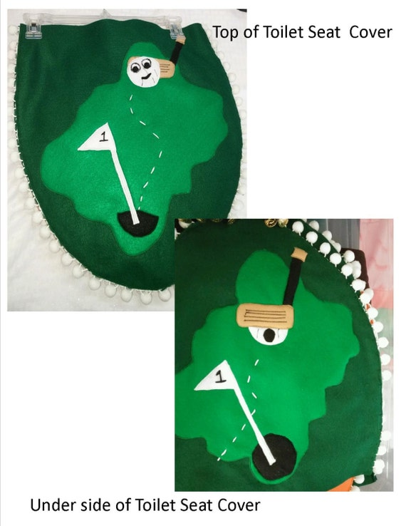 Items similar to decorative toilet seat cover on etsy - Decorative toilet seat covers ...