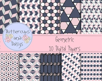 Geometric Digital Papers