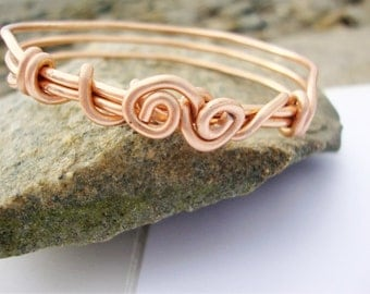 Rose Gold Bangle