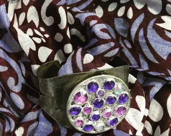 Shades of Purple Cuff