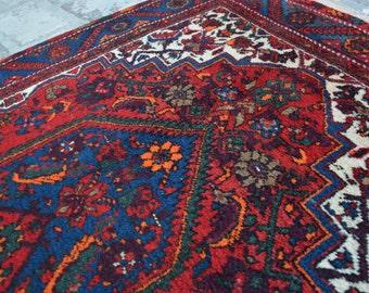 5'3 x 3'5 FEET Vintage Beautiful Persian rug  Sheazi Rug Home decor rug wall Hanging rug