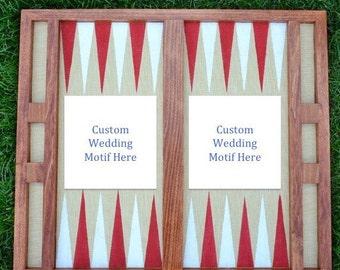 The Wedding/Custom Backgammon Board
