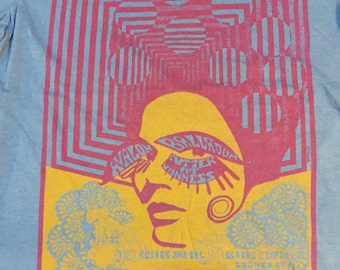 Big Brother & the Holding Company limited edition concert tee