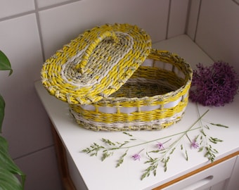 Punnets, all purpose basket, box, basket from paper with lid