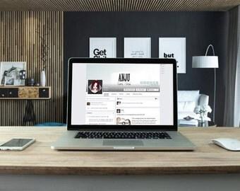 Design of custom Facebook page