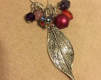 Leaf Cluster Necklace