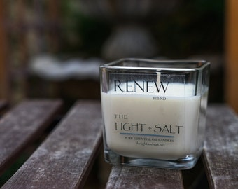 Renew - Essential Oil Soy Candle