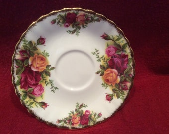Royal Albert Old Country Roses Coffee Saucer