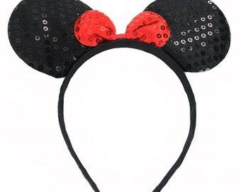 Minnie Mouse Inspired Headband
