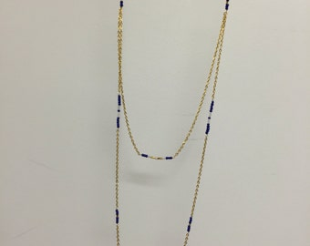 Beaded Chain Layer Necklace