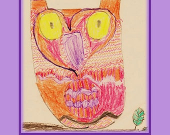 Owl Be Thinking Of You Card