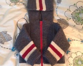 Sock Monkey Jacket