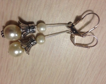 Pearl Lantern Earrings