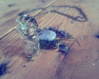 Light and Air for Witch. One of a kind necklace.