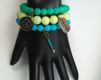 Colorful Journey Bracelet Set