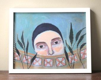 "Marigold - Print, 11x14"""