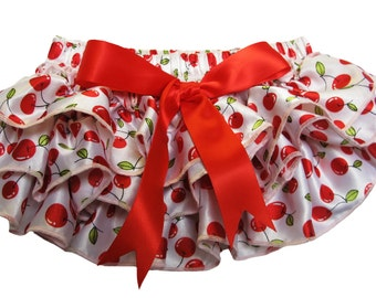 Cherry Print Ruffle Bloomers (6-24 Months)
