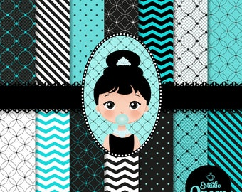 Clipart Breakfast at Tiffany's Party