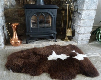 Unique Sheepskin Rug Related Items Etsy
