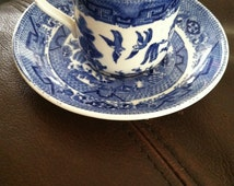 Popular Items For Blue Willow China On Etsy
