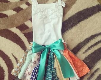Assorted Fabric Skirt