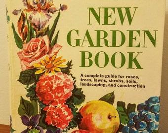 Better Homes and Gardens New Garden Book 1968