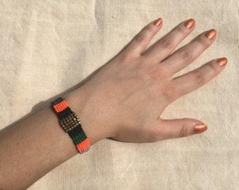 summer bracelet - vivid colors