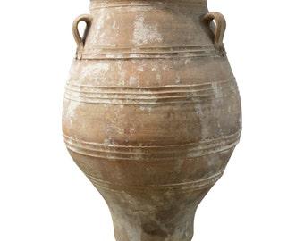 Antique Pithari Greek Terracotta Pottery