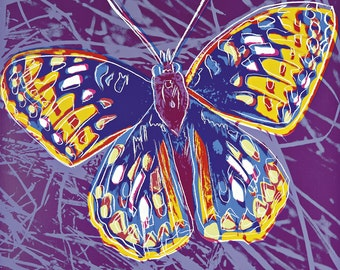 Andy Warhol - Butterfly