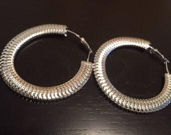 Tire Tread Earrings