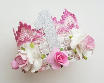 Deluxe Birthday Lace Crown
