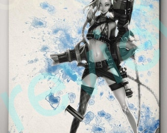 Jinx League of Legends Poster
