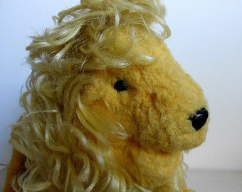 Vintage, 70s Russian Lion Toy,