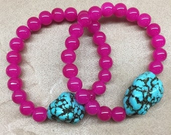 Turquoise Pop (Pink)