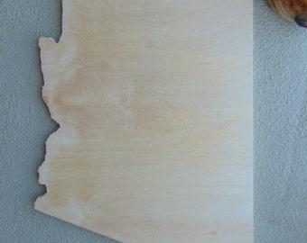 State Wood Cutout